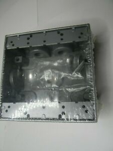 Bell 5337 0 Two Gang Weatherproof Box 1 2 Hub 5 Outlets New