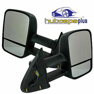 For 99 02 New Chevrolet Silverado Sierra Truck Power Heated Towing Mirror Kit