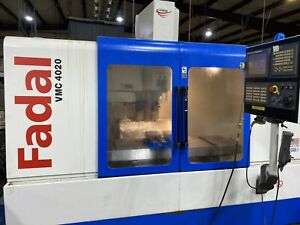 2006 Fadal Vmc 4020 Cnc Vertical Mill With Fanuc Controller