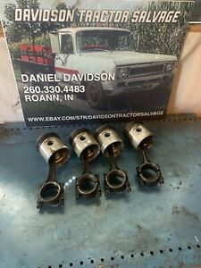 Allis Chalmers B c ca Pistons And Rods Antique Tractor