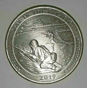 2019 P War in the Pacific National Park Very fine FREE SHIPPING $1.14