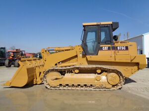 2006 Caterpillar 973c Crawler Loader Cab heat air Hystat 242hp