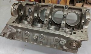 69 70 302 Boss Engine Block Mustang Cougar Eliminator 4 Bolt Main Mag S Good