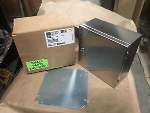 Rittal Enclosure Jb121206h6 316 Stainless Box Electrical