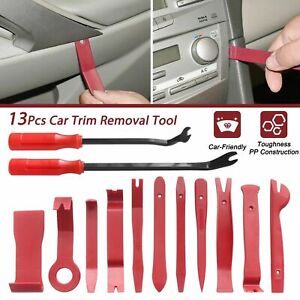 13pcs Car Trim Removal Tool Kit Door Panel Auto Dashboard Plastic Interior Set