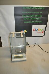 Sartorius Ac 121s Analytical Balance Lab Scale Working Condition Free Shipping