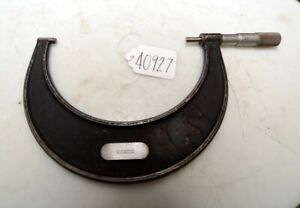 Starrett No 226 5 6 Outside Micrometer inv 40927