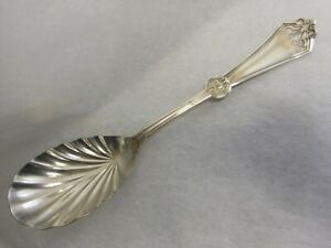 Rogers Bros Int L Persian 1871 Silver Plated Casserole Berry Spoon No Monogram