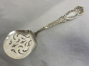 Oneida S L G H Rogers Violet 1905 Silverplated Tomato Server No Monogram
