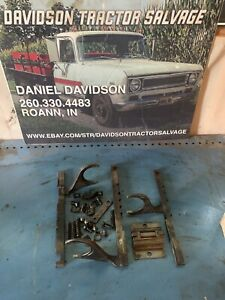 Farmall 300 350 Shifter Forks And Hardware Antique Tractor