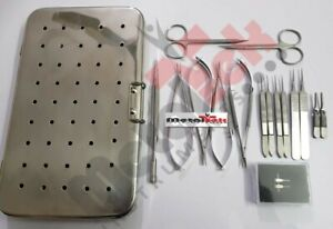 Micro Hand Surgery Instruments Set Micro Surgery Surgical Instruments