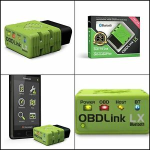 Obdlink Lx Bluetooth Professional Automotive Scan Tool For Windows And Android
