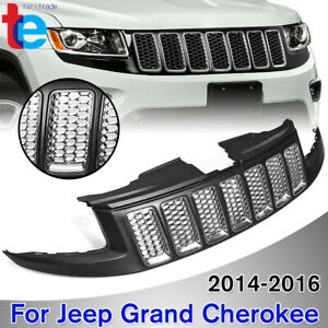 Front Bumper Honeycomb Mesh Grille Srt8 Style For Jeep Grand Cherokee 2014 16 Us