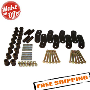 Crown Automotive Rt21023 Heavy Duty Greasable Shackle Kit For 87 95 Wrangler Yj