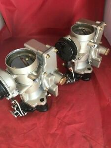 Pair Of Carter Yh Carburetors For Nash Healey Le Mans And Marine Applications