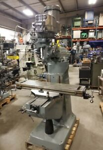 Bridgeport Variable Speed Head Mill inv 33839