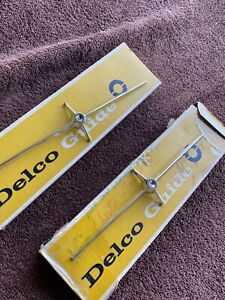 New Old Stock 1966 Cadillac Deville Front Signal Lights Chrome Trim