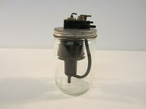 1958 Chevy Impala Windshield Wiper Washer Jar Glass Bottle Fluid Pump Accessory