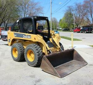 2007 John Deere 320 Skid Steer Loader 66hp One Owner Machine 1 327 3 Hours