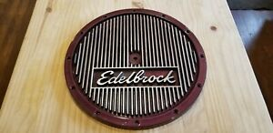 Edelbrock Finned Air Cleaner Lid 14 Custom