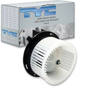 Tyc Front Hvac Blower Motor For 2002 2006 Jeep Wrangler Dv