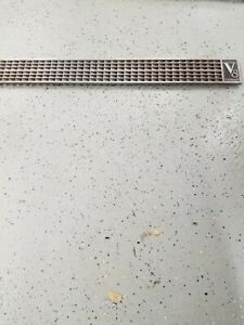 1937 Cadillac Hood Side Grill With V8 Symbol