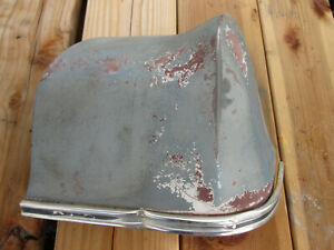 1966 Chevrolet Impala Rh Rear Fender Extension