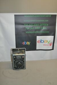 General Radio Co Variac Autotransformer Type W10mt Free Shipping
