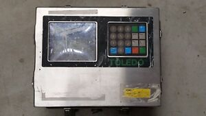 Toledo Scale 8142 Ram 1007 Digital Operator Interface Readout Panel Stainless