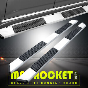 For 15 21 Colorado Canyon Crew Cab 5 5 Running Board Side Step Nerf Bar Chrome