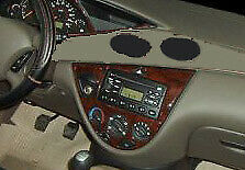 Interior Wood Dash Trim Kit Set For Ford Focus 2000 2001 2002 2003 2004 Zx3 Zx4