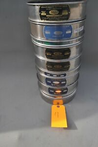 Lot Of 10 Soiltest Stainless 8 U S A Standard Testing Sieve 16 To 400