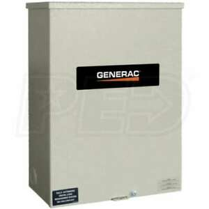 Generac 200 amp Automatic Smart Transfer Switch W Power Management Rxsc200a3