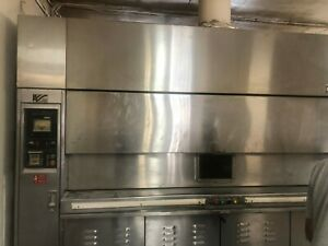Lucks Revolving 36 Pan Bakery Gas Oven Bakery Equipment