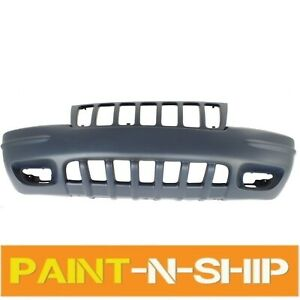 Fits 1999 2000 Jeep Grand Cherokee Front Bumper Cover Grand Cherokee Limited