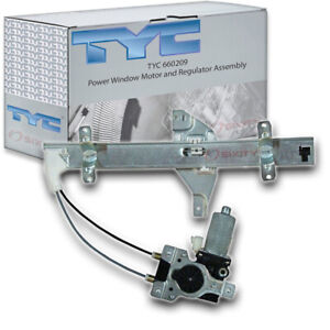 Tyc 660209 Power Window Motor And Regulator Assembly For General Motors Yc