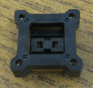 Yamaichi Ic149 100 025 b5 100 0 5mm Smt Prototyping Socket Qfp