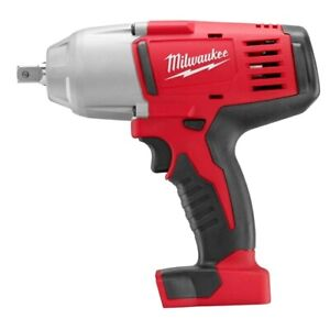 Milwaukee 2662 20 M18 1 2 High Torque Impact Wrench With Pin Detent bare Tool