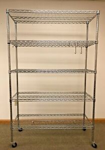 Organizing Wire Metal Storage For Business Or Home Moving Shelving Unit