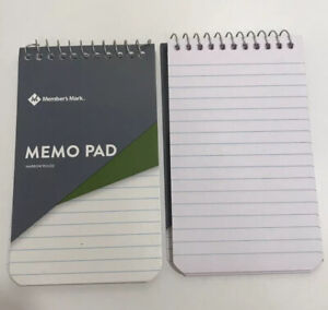 3 X 5 Memo Pad 70 Sheets Narrow Ruled 2 X 12 Count lot Of 24 Pads