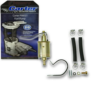 Carter P90021 Fuel Pump Electric Inline Pressure Transfer Gas Diesel Ci