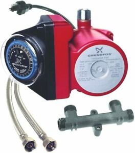 Grundfos Gru 595916 Recirculating Hot Water Pump Comfort System New In Box