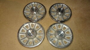 1965 Pontiac Gto Le Mans Tempest Deluxe Wheelcovers 14 Inch 65 Lemans Hubcaps