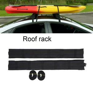 Universal Black Roof Rack Cargo Car Top Luggage Stand Carrier Traveling Holder