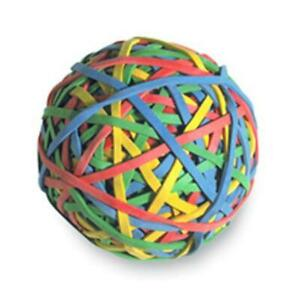 Acco Brands Inc Rubber Band Ball 275 ball Assorted Colors