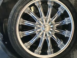 Save 50 Four 18 In Rims Used Like New On A 2005 Honda Civic Borghini Very Nice