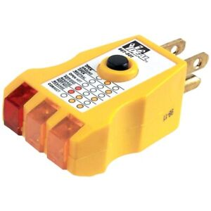 Ideal 61 501 Gfci Receptacle Tester