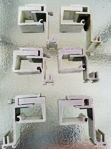Set Of 6 Tite lok Truck Cap Topper Top Bed Lid Cover Mounting C Clamp