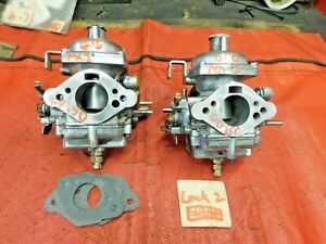 Triumph Gt6 Stromberg Zenith Cd 150 Rebuilt Carburetors Original