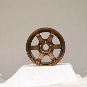 1 Pc Only Rota Wheel Grid Concave 15x9 5x114 3 36 Frsport Bronze 15 4 Lbs
